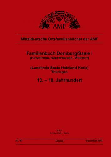 Familienbuch Dornburg/Saale 13. - 18. Jhd.