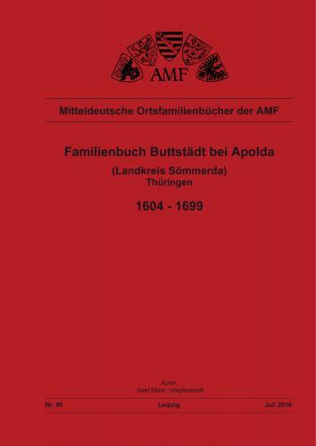 Familienbuch Buttstädt (1604-1699)