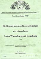 Regesten Gerichtsbücher Wiesenburg – Band 2