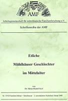 Etliche Mühlhäuser Geschlechter im Mittelalter – Band 2