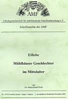 Etliche Mühlhäuser Geschlechter im Mittelalter – Band 3
