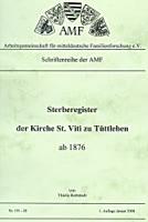 Sterberegister der Kirche St. Viti zu Tüttleben