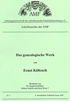 Das genealogische Werk von Ernst Költzsch