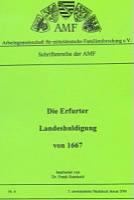 Die Erfurter Landeshuldigung von 1667