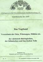 Das Vogtland, ein Verzeichnis der Orte,