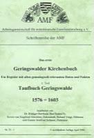 Das erste Geringswalder Kirchenbuch – Teilband 1