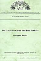 Die Golzener Güter und ihre Besitzer
