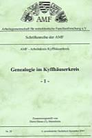 Genealogie im Kyffhäuserkreis - 1 -