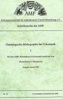 Genealogische Bibliographie der Uckermark - 1 -