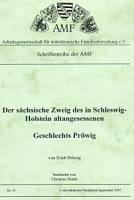 Der sächsische Zweig Geschlechtes Pröwig aus Schleswig-Holstein