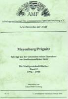 Meyenburg/Priegnitz - Die Stadtprotokoll-Bücher