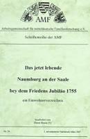 Einwohnerverzeichnis 1755 Naumburg an der Saale