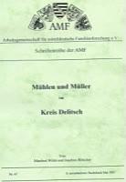 Mühlen und Müller im Kreis Delitzsch