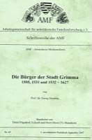 Die Bürger der Stadt Grimma 1505, 1531 und 1532-1628
