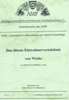 Das älteste Einwohnerverzeichnis von Wiehe
