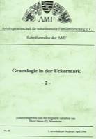 Genealogie in der Uckermark - 2 -