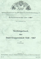 Neubürgerbuch Kroppenstedt 1548-1867
