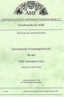Forschungsergebnisse AK Harz 2002