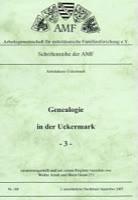 Genealogie in der Uckermark - 3 -