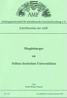 Magdeburger an frühen deutschen Universitäten