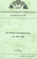 Die Tüttleber Gemeinderechnung von 1689/90