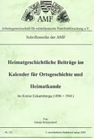 """Heimatgeschichliche Beiträge im """"Kalender für Ortsgeschichte und Heimatkunde im Kreise Eckartsberga"""" (1896-1941)"""