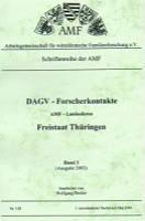 DAGV-Forscherkontakte 2003 Thüringen