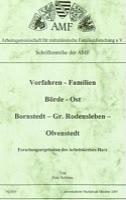Harzer Vorfahren - Familien im Raume Börde – Ost; Bornstedt – Gr. Rodensleben – Olvenstedt