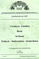 Vorfahren-Familien Börde im Raum Walbeck – Haldensleben – Oschersleben