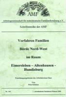 Vorfahren-Familien Börde Nord-West im Raum Eimersleben – Altenhausen – Hundisburg