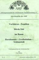 Vorfahren - Familien Börde Süd im Raum Hornhausen – Großalsleben – Schlanstedt