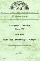 Vorfahren-Familien Börde SW im Raum Morsleben – Druxberge – Söllingen