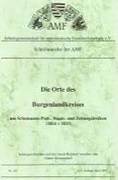Die Orte des Burgendlandkreises aus Schumanns Post-, Staats- und Zeitungslexikon 1814-1833