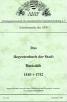 Regestenbuch der Stadt Buttstädt 1410-1742