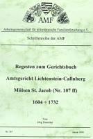 Regesten zum Gerichtsbuch Amtsgericht Lichtenstein-Callnberg: Mülsen St. Jacob 1604-1732
