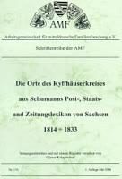 Die Orte des Kyffhäuserkreises aus Schumanns Post-, Staats- und Zeitungslexikon in Sachsen