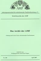 Das Archiv der AMF - Familiennamen