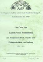 Die Orte des Landkreises Sömmerda aus Schumanns Post-, Staats- und Zeitungslexikon in Sachsen 1814-1833