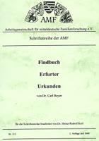 Findbuch Erfurter Urkunden