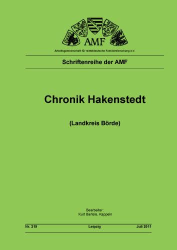Chronik Hakenstedt (Landkreis Börde)