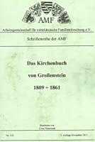Das Kirchenbuch von Großenstein 1809-1861