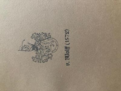 v. Wolff (1572)