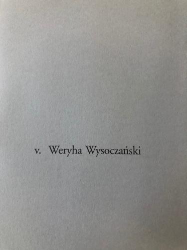 v. Weryha Wysocza?ski