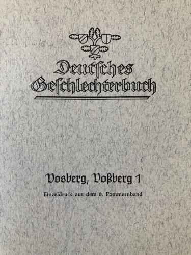 Vosberg, Voßberg 1