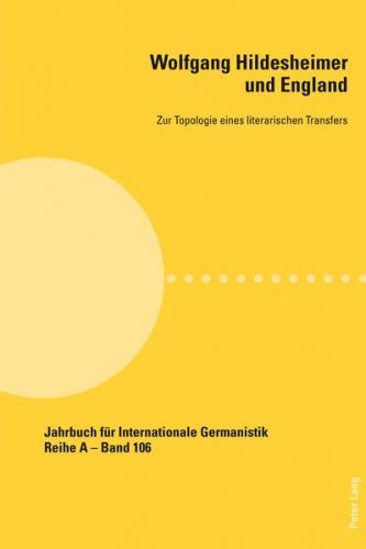 Wolfgang Hildesheimer und England (Ebook - pdf)