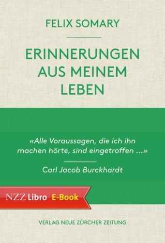 Felix Somary, Erinnerungen aus meinem Leben (Ebook - EPUB)