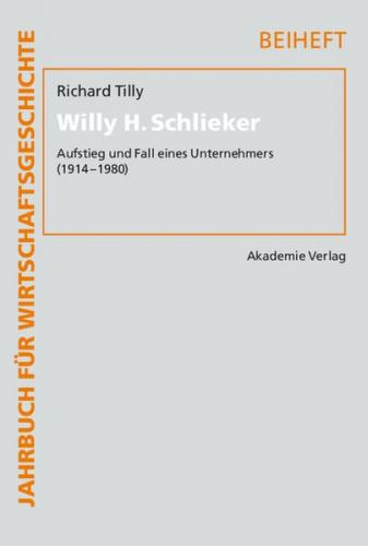 Willy H. Schlieker (Ebook - pdf)