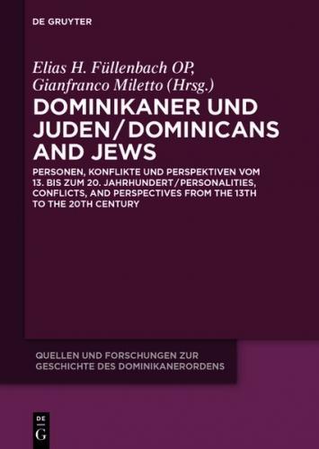 Dominikaner und Juden / Dominicans and Jews (Ebook - EPUB)