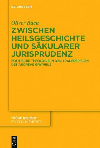 Zwischen Heilsgeschichte und säkularer Jurisprudenz (Ebook - EPUB)
