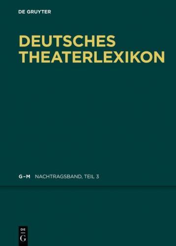 Deutsches Theater-Lexikon / K - L (Ebook - EPUB)
